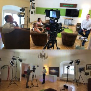 schloss schönbrunn medientraining videoproduktion wien